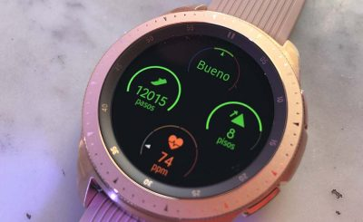 Samsung Watch Pink